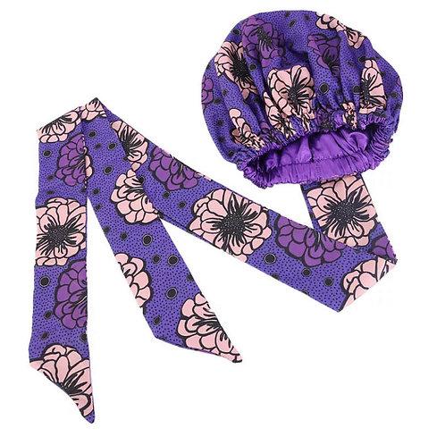 Purple Flower Wrap