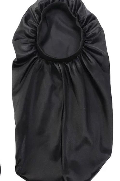 BLACK Long Bonnet