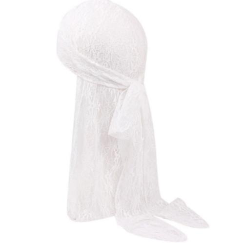 White Lace Durag