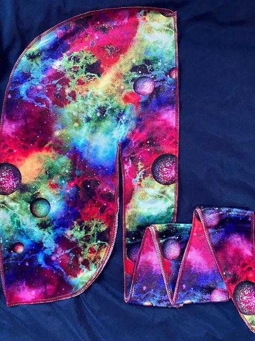 Colorful Galaxy Durag