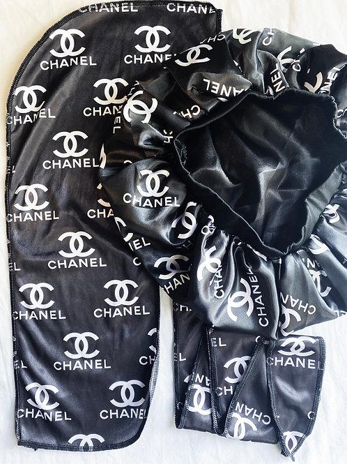 Black CHANEL Set