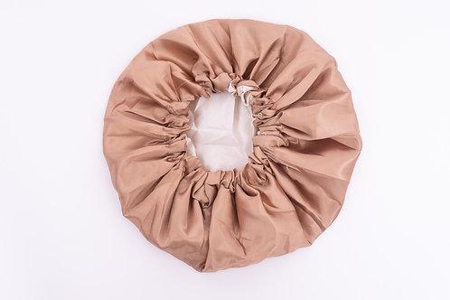 Champagne Silk Bonnet-Adjustable & Reversible
