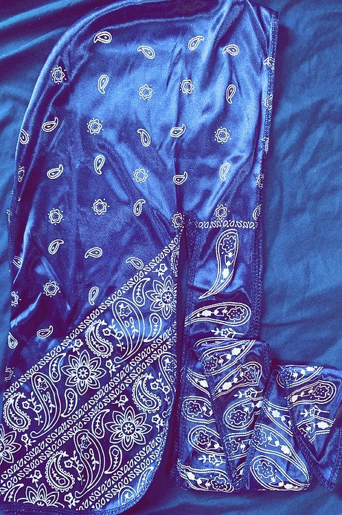 Blue Bandana Durag