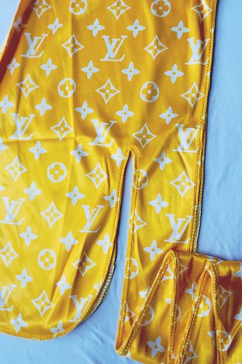 Yellow LV Durag