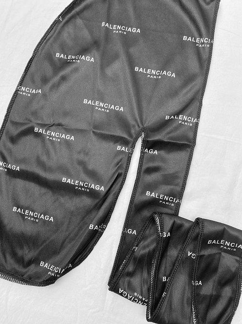 Black BALENCIAGA Durag