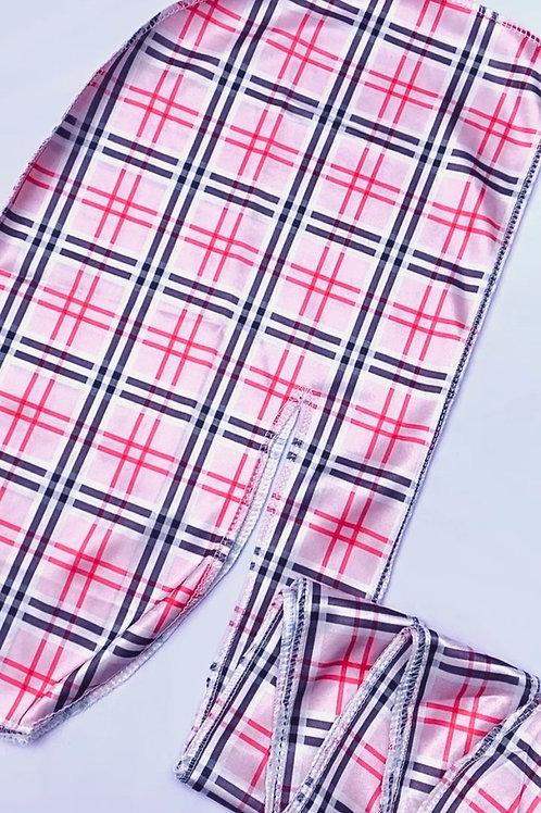 Pink BURBERRY Durag