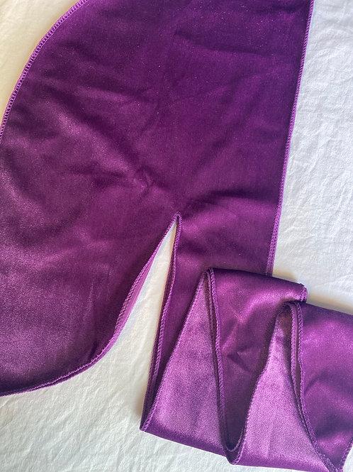 Purple Velvet Durag