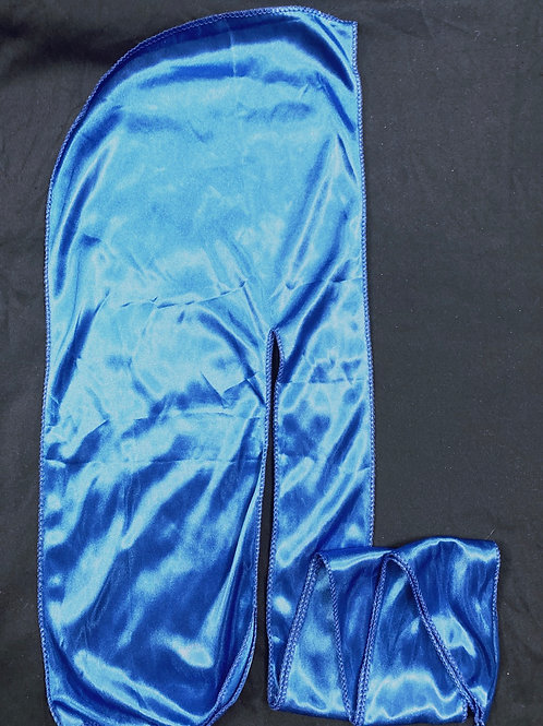 Blue Satin Durag