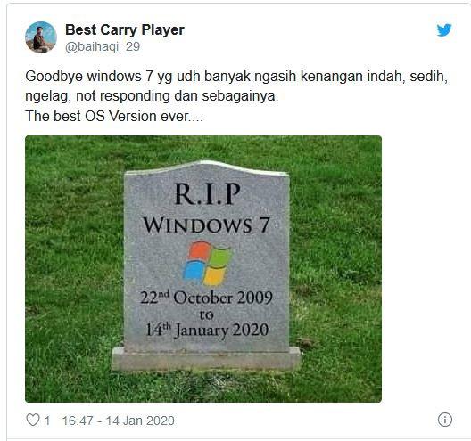 Selamat Tinggal dan Terimakasih kepada Windows 7 | PT SOLID GOLD BERJANGKA