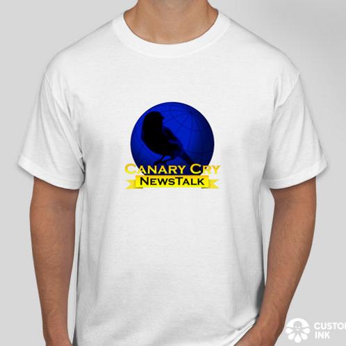 Basic Canary Cry Newstalk T-Shirt
