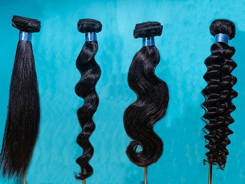 Human Hair Bundle - Raw Asian