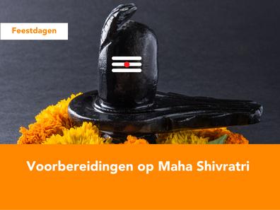 Voorbereidingen op Maha Shivratri