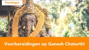 Voorbereidingen Ganesh Chaturthi