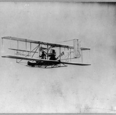 Wilbur Wright in New York, 1909