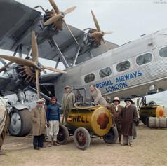 Imperial Airways HP 42,1931