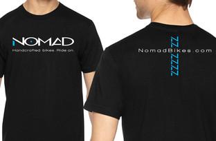 Black Tshirts with Nomad Logo