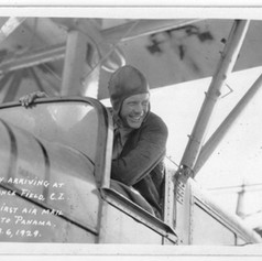 Charles Lindbergh, Canal Zone