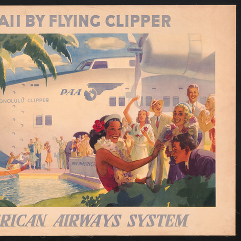 Hawaii by flying clipper, 1939