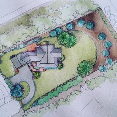 Landscape Design and Property Site Plan