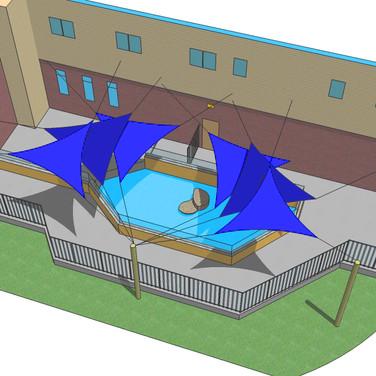 Aquarium Pool Canopy Project