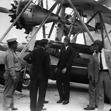 Charles Lindbergh w airmail