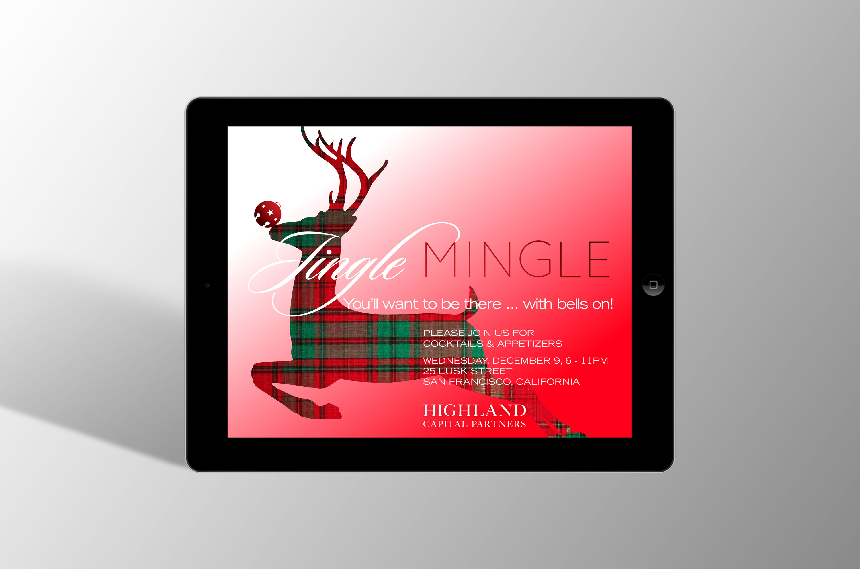 Second Jingle Mingle Invitation