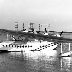 Pan Am S-42B at Alameda, 1937 © CC