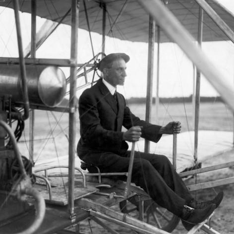 Wilbur Wright, France, 1908 © Getty