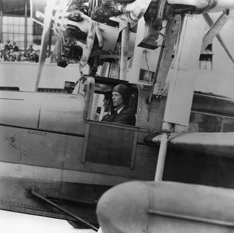 Charles Lindbergh, Miami, 1929