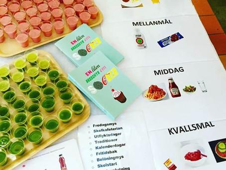 Murgårdsskolan tänker sockersmart