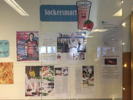 Sveriges första diplomerade sockersmarta skola