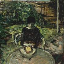 Hanna Reading In The Garden