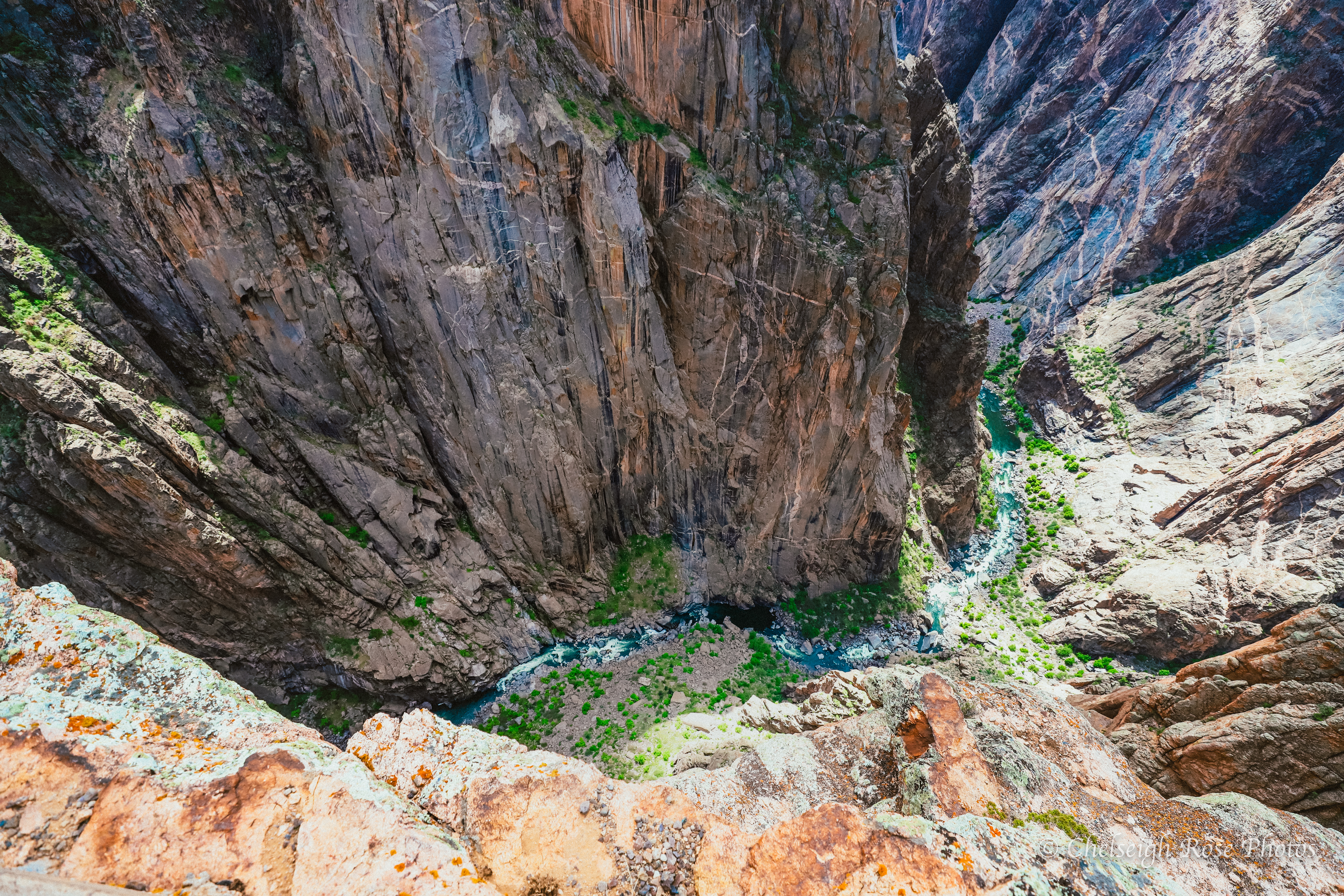 Gunnison Gorge in Black Canyon NP