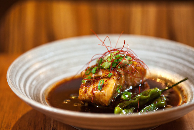 Soy Poached Black Cod Chan Seattle