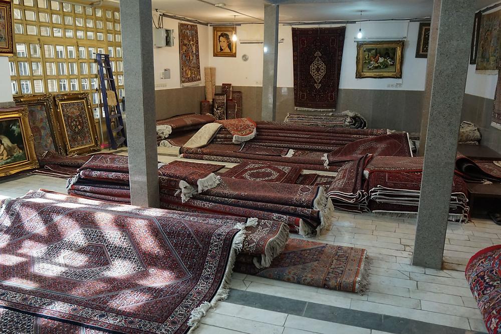 ザンジャーン 絨毯
