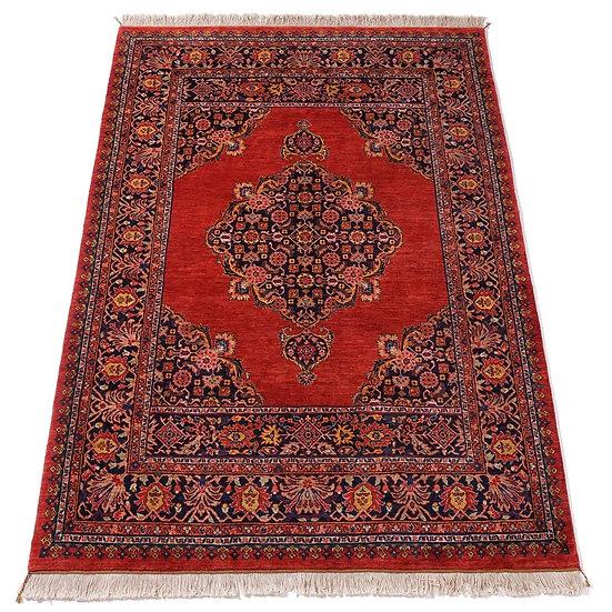 ペルシャ絨毯 カシュガイ Berahne pushan 257×186cm