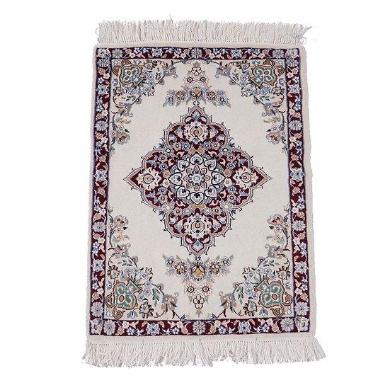 ペルシャ絨毯 ナイン 9la 90×67cm