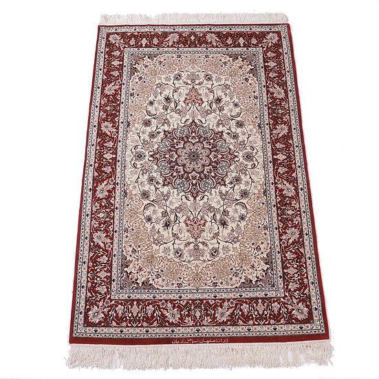 ペルシャ絨毯 イスファハン 195×125cm