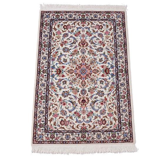 ペルシャ絨毯 ナイン 6la 152×103cm