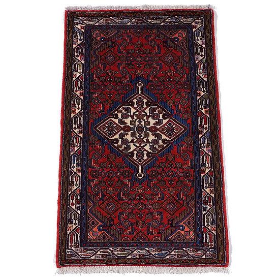 ペルシャ絨毯 タージアーバード 122×75cm