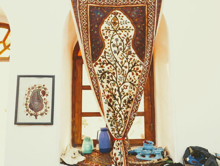 ケルマーンの刺繍 パテ(Pateh)