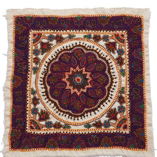 ケルマーン刺繍 パテ 43×43cm