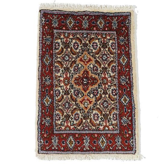 ペルシャ絨毯 ビールジャンド(ムード) 56×38cm