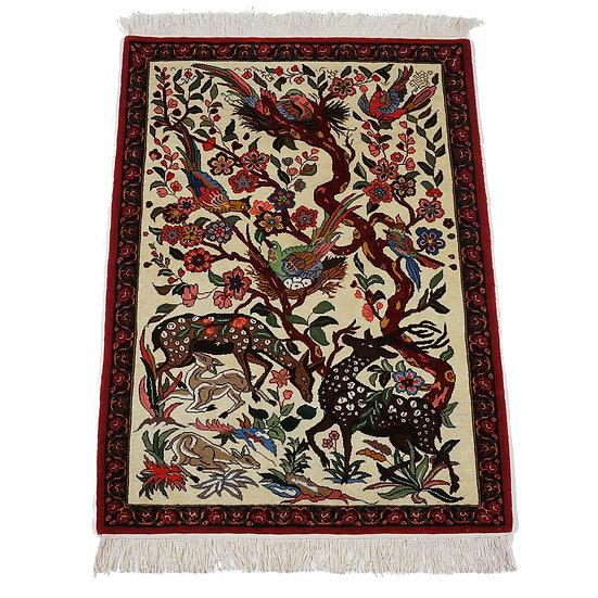 ペルシャ絨毯 バフティヤーリー 147×112cm