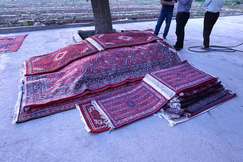 ハマダーン絨毯