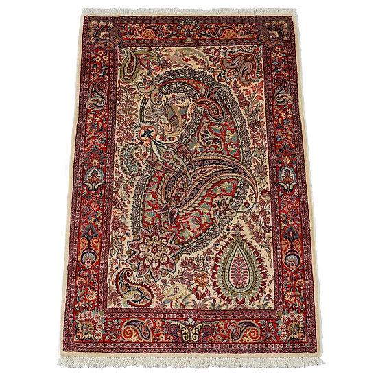 ペルシャ絨毯 カーシャーン 155×105cm