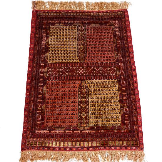 ペルシャ絨毯 ドゥイドフ シルク両面織  134x96cm