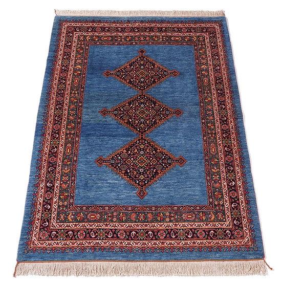 ペルシャ絨毯 カシュガイ Berahne pushan 212×160cm