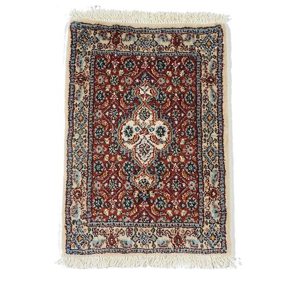 ペルシャ絨毯 ビールジャンド(ムード) 59×41cm