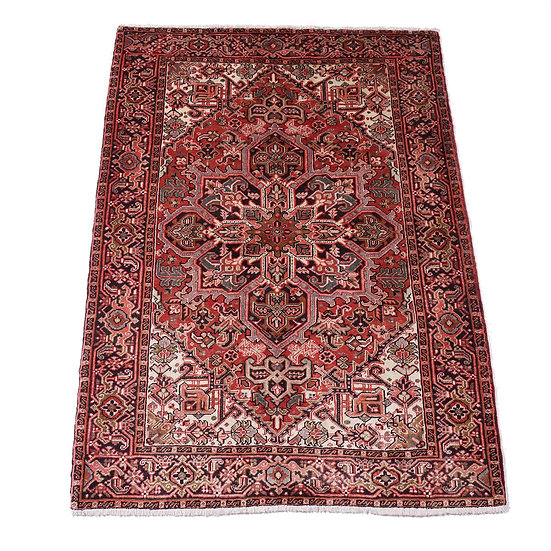 ペルシャ絨毯 ヘリース 198×146cm